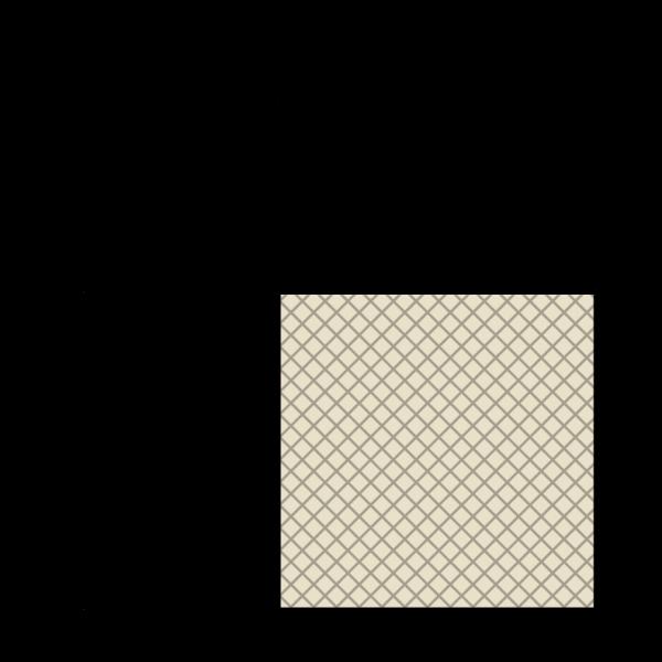 FDA Siliconen vierkantsnoer 60° Shore A | 15mm x 15mm | Rol 25 meters
