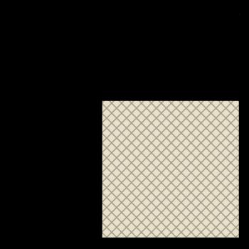 FDA Siliconen vierkantsnoer 60° Shore A | 20mm x 20mm | Rol 25 meters