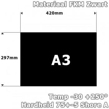 FKM/Viton plaatrubber 1mm...