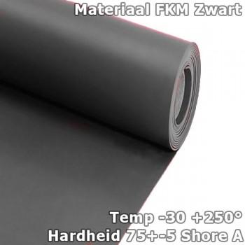 FKM/Viton plaatrubber 4mm...